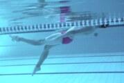 Rekord Polski na 100 m grzbietem a praca nóg