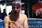 Adam Walker-rotacja w pływaniu kraulem