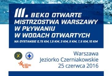 III Beko Otwarte Mistrzostwa Warszawy Open Water